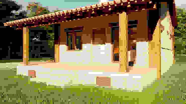 MODELO MADRID. LINEA CLASSIC QCASA.Madrid. Viviendas industrializadas eficientes de hormigón Casas prefabricadas Hormigón