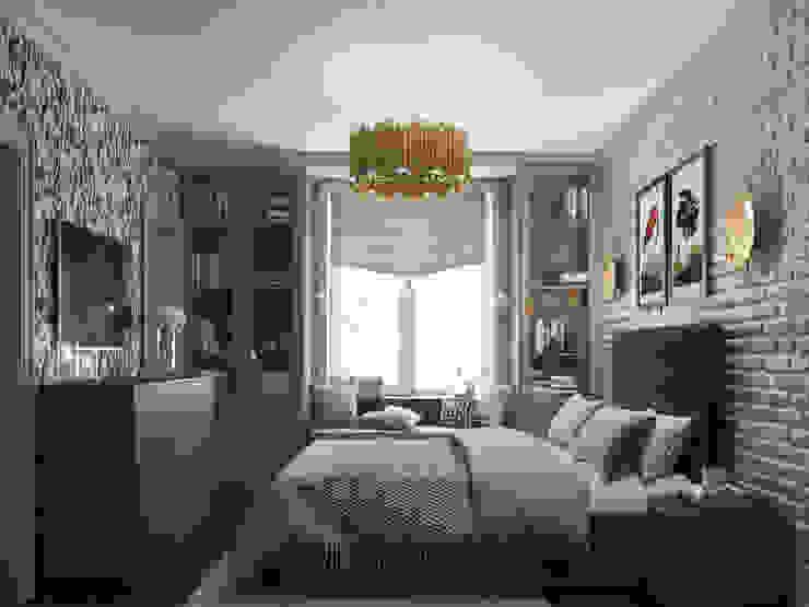 Вторичка на Соколе 3D GROUP Спальня в классическом стиле