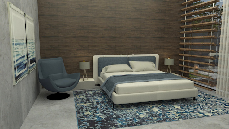 Modern Bedroom by Casactiva Interiores Modern