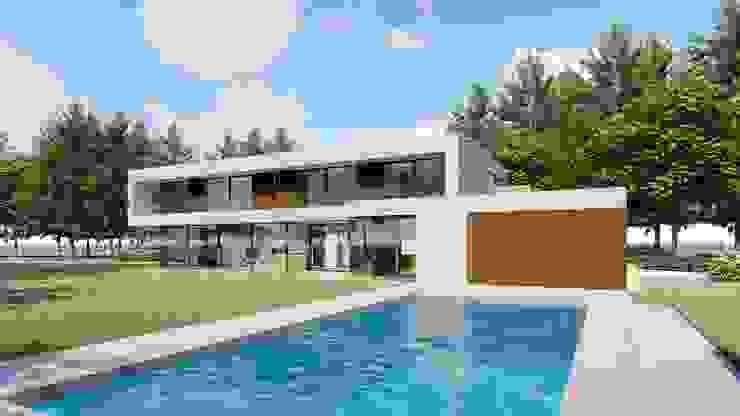 Moderne Häuser von watkostbouwen.nl Modern