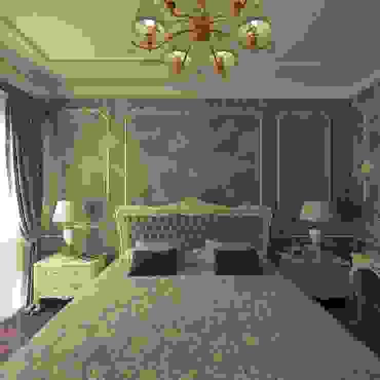 تصميم غرفة نوم رئيسية من dina george كلاسيكي خشب Wood effect