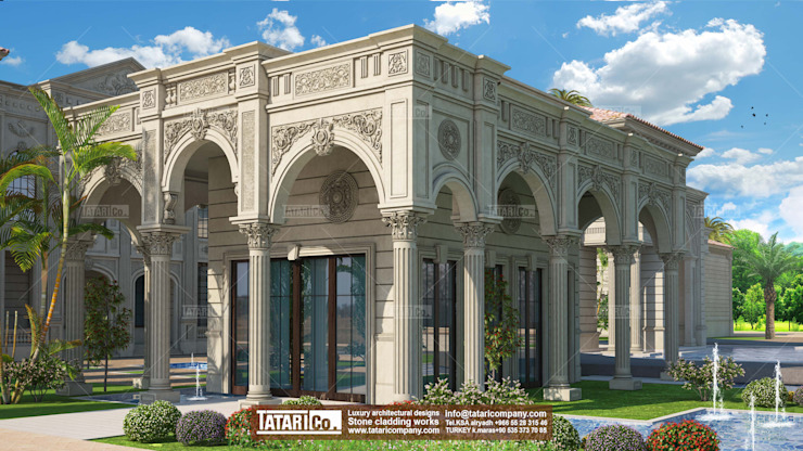 Design ,3d Modeling , Visualization by tatari company Classic Stone