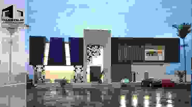 Exterior facade design Tasamim Online تصاميم أونلاين