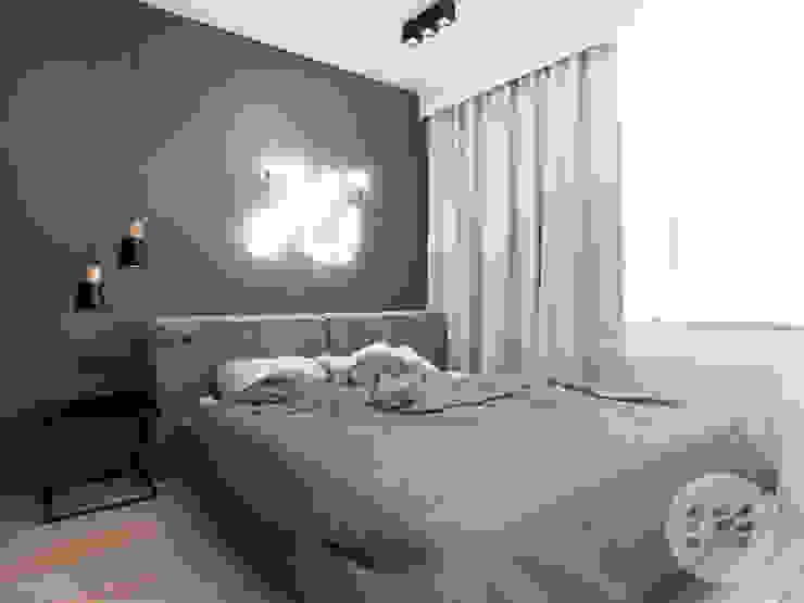 365 Stopni Small bedroom Grey