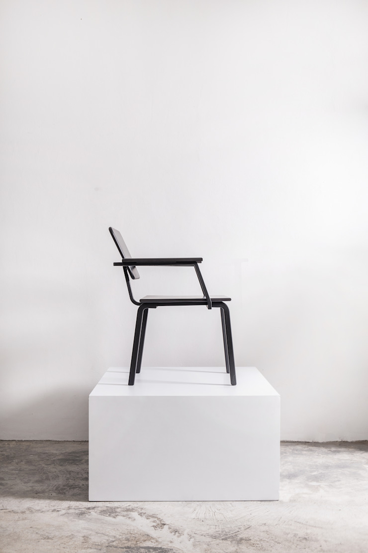 เก้าอี้ซีโน (ZENO CHAIR): ทันสมัย  โดย NICO FURNITURE, โมเดิร์น ไม้จริง Multicolored