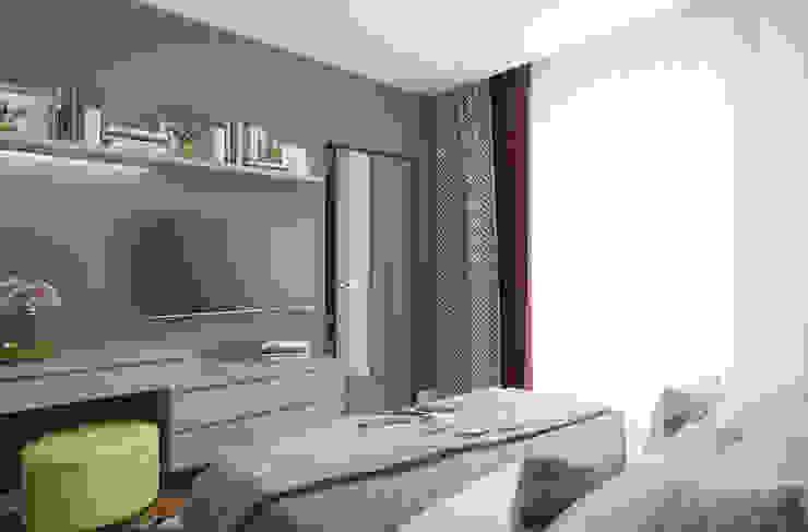 Квартира в Санкт-Петербурге Спальня в стиле минимализм от Частный дизайнер интерьера Алексеева Юлия Минимализм