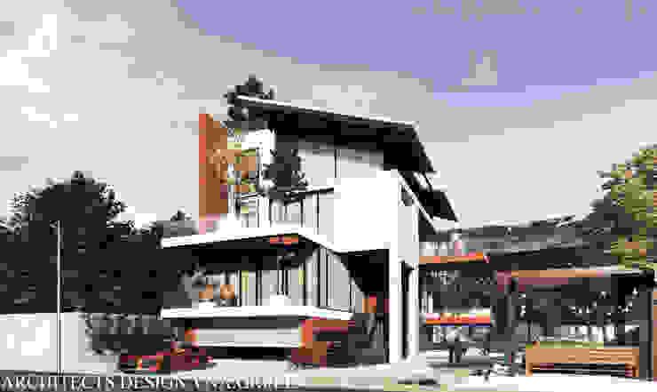 BIỆT THỰ 4 TẦNG - KIẾN TRÚC XANH - HẢI PHÒNG bởi Kiến trúc Việt Xanh