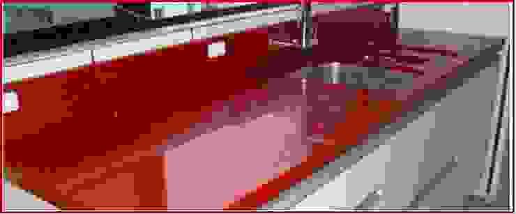 cqp cursos e consultoria KitchenBench tops Marmer Multicolored