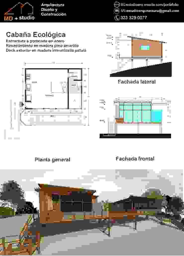 Cabaña San Cristobal de MD estudio Moderno