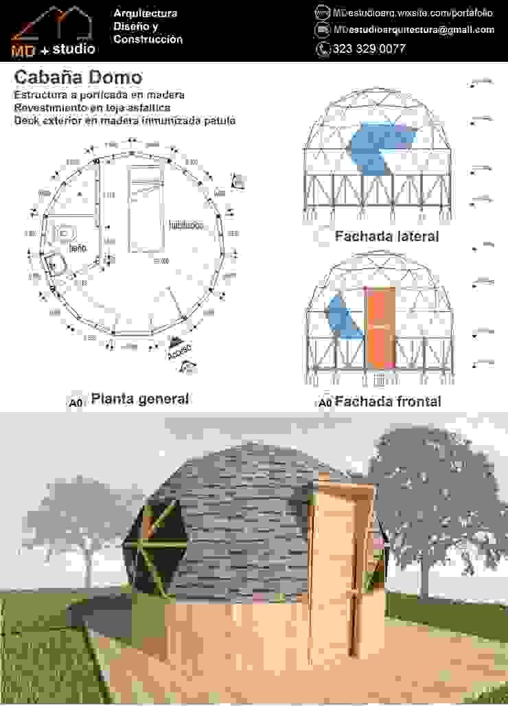 cabaña domo de MD estudio