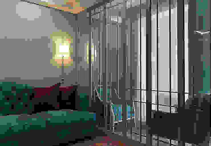 АМЕРИКАНСКАЯ КЛАССИКА DE LUXE (гостиная) Гостиная в классическом стиле от STUDIO DESIGN КРАСНЫЙ НОСОРОГ Классический