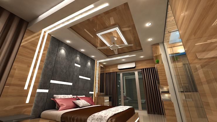Modern style bedroom by Clickhomz Modern