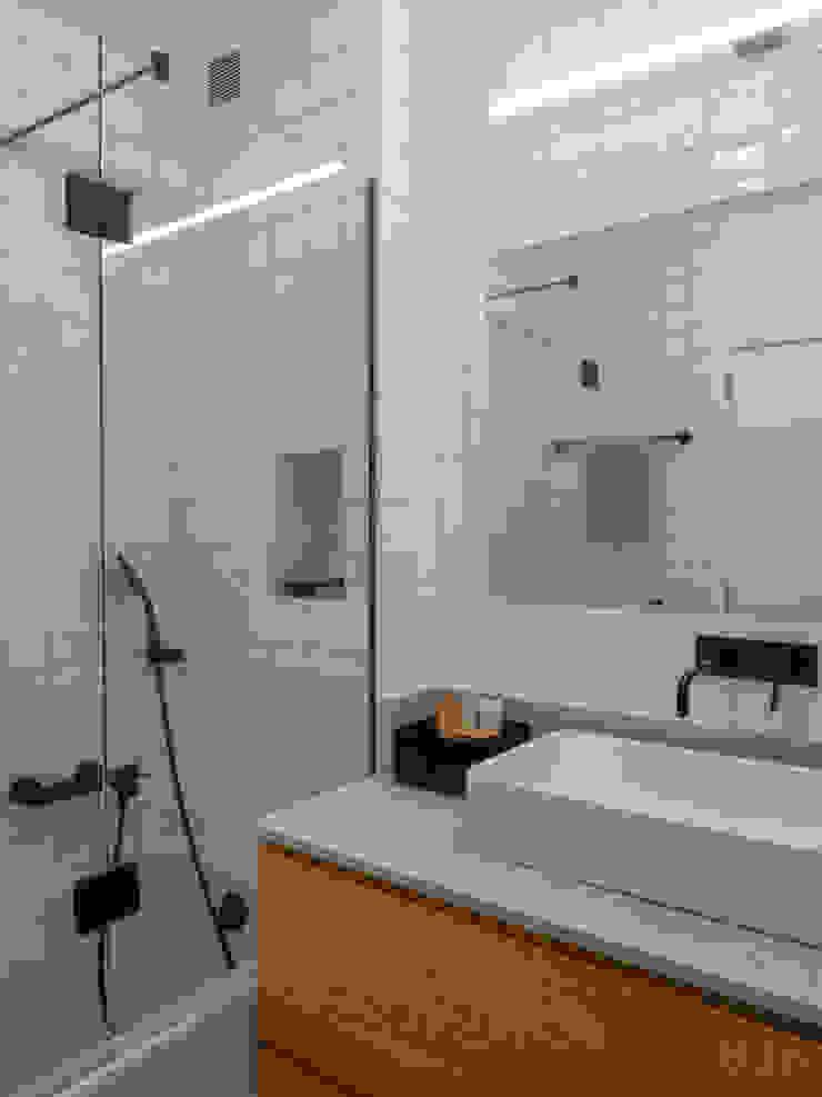Casa de Banho (grande) | Depois MUDA Home Design Casas de banho escandinavas