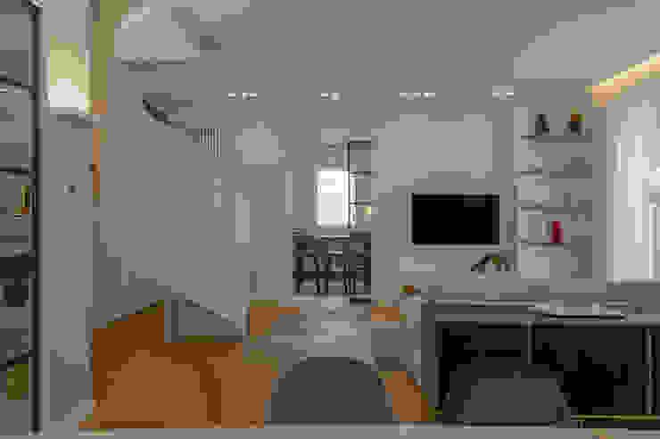 Archifacturing Salas de estilo moderno