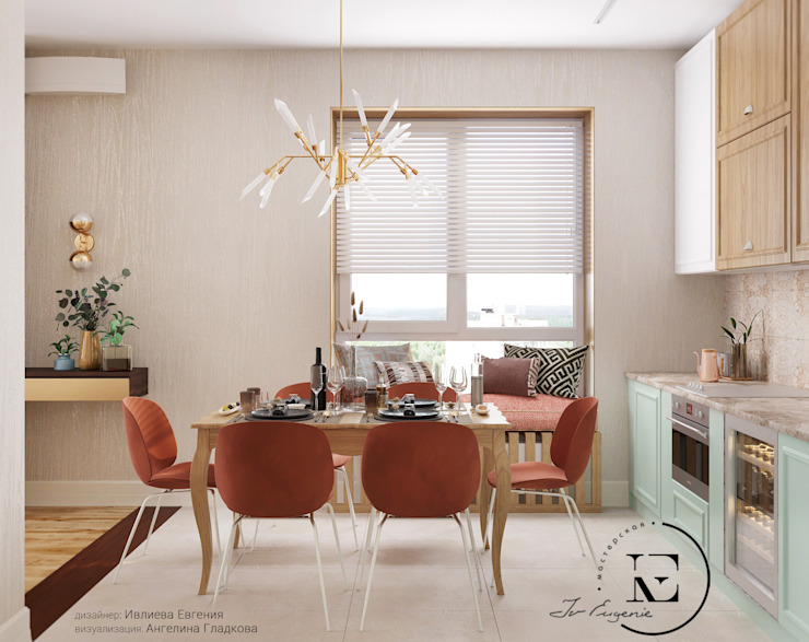 Кухня в Средиземноморском стиле от IvE-Interior Средиземноморский