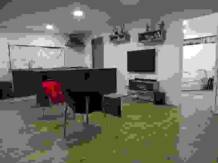 Montgreen Ecomodular Minimalist living room