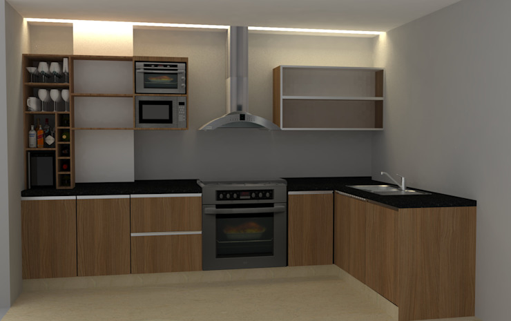 Modern style kitchen by 2 MINT STUDIO Modern