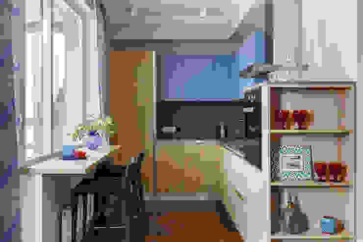 ЖК «Бонава» Кухня в стиле модерн от NKinterior Модерн