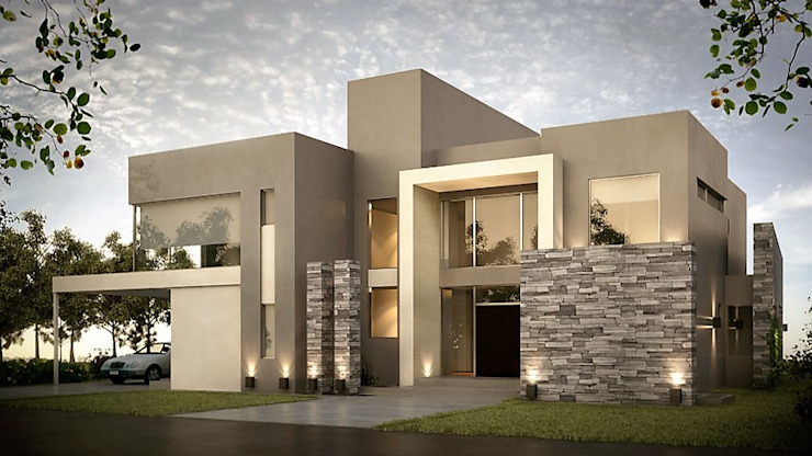 Waterfall Estate by Wentworth Architects Minimalist Concrete