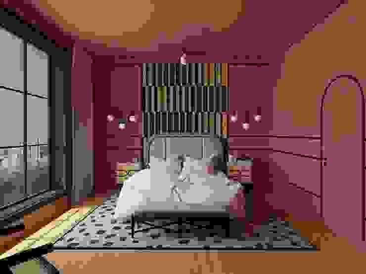 Страсти по терракоте Спальня в эклектичном стиле от Homey Home Эклектичный
