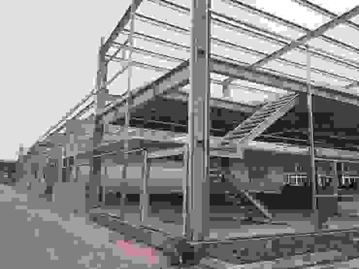Nhà xưởng công ty Woosung vina bởi Công ty Nhà thép Việt Nam - VSTEEL Công nghiệp Sắt / thép