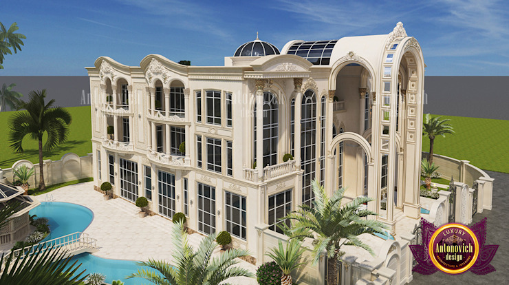 Engineering for Villa in Abu Dhabi by Luxury Antonovich Design