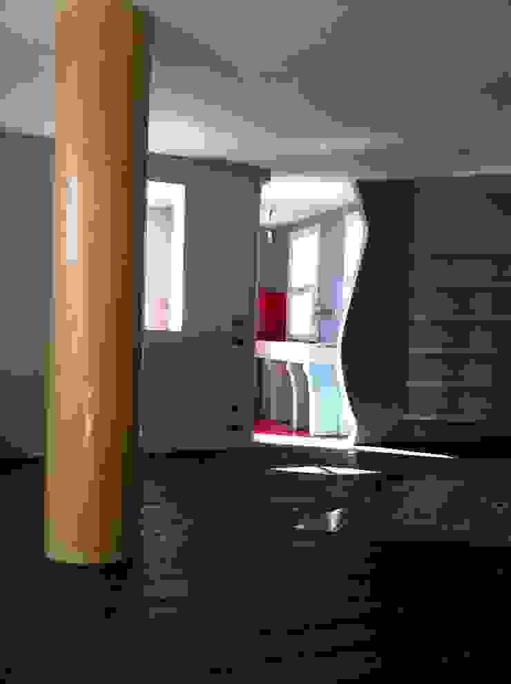 Colonna Decorata ARTE DELL'ABITARE Sala multimedialeAccessori & Decorazioni Cemento Variopinto