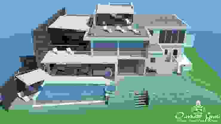 House of Sails Modern balcony, veranda & terrace by Outdoor Genie Modern