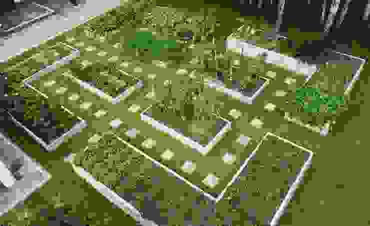 Warzywniki - Betonowe Rabaty Warzywne GartenMöbel
