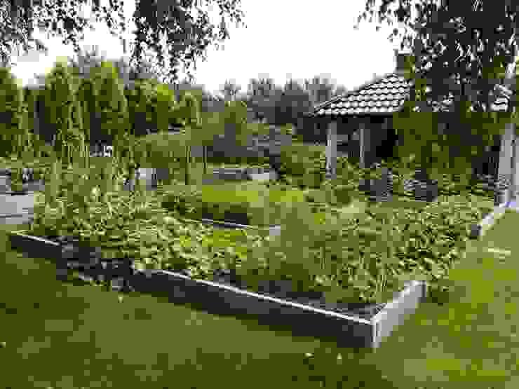 Warzywniki - Betonowe Rabaty Warzywne GartenFeuerplätze und Grill
