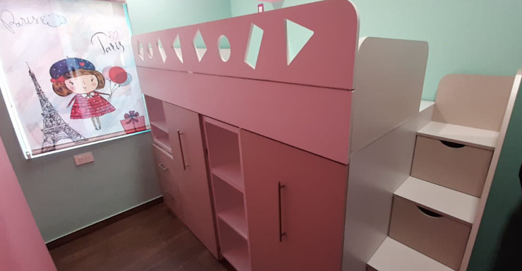 MADYS INTERIORES Modern nursery/kids room
