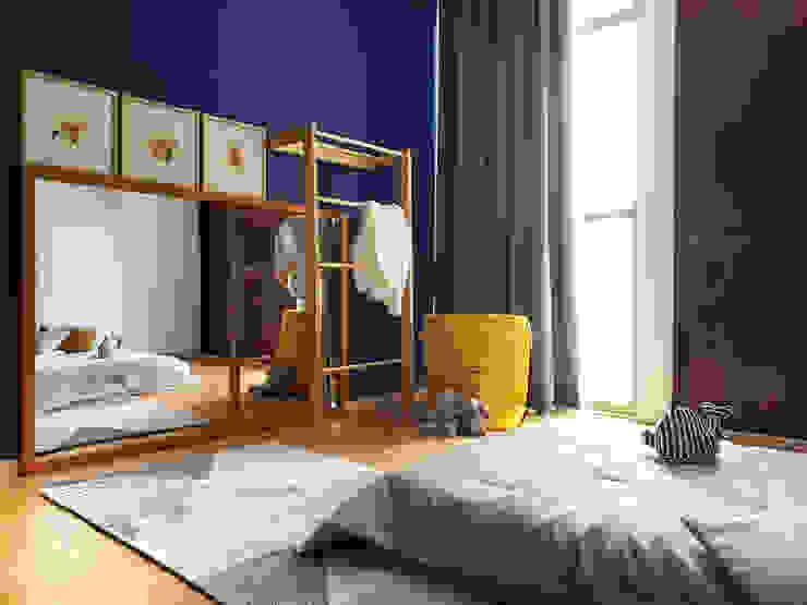 Sentido Arquitectura Baby room Wood Blue