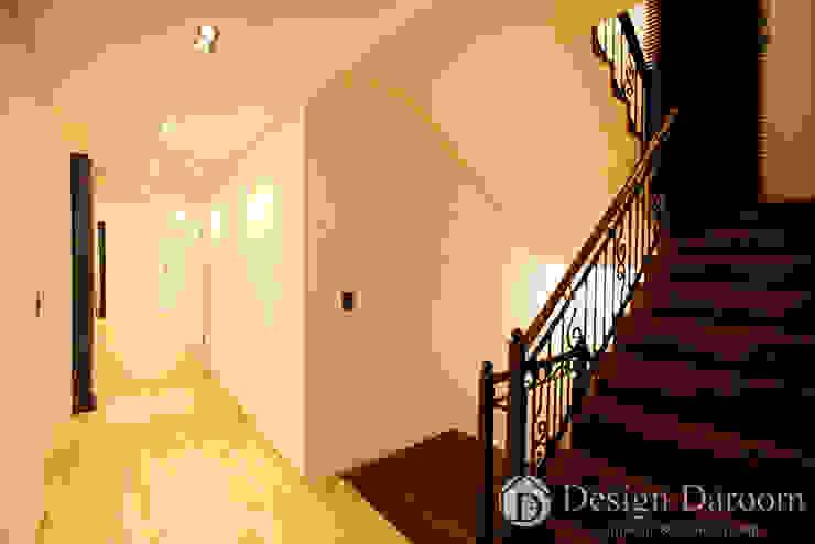 김포 전원주택 78py 2층 계단 by Design Daroom 디자인다룸 모던