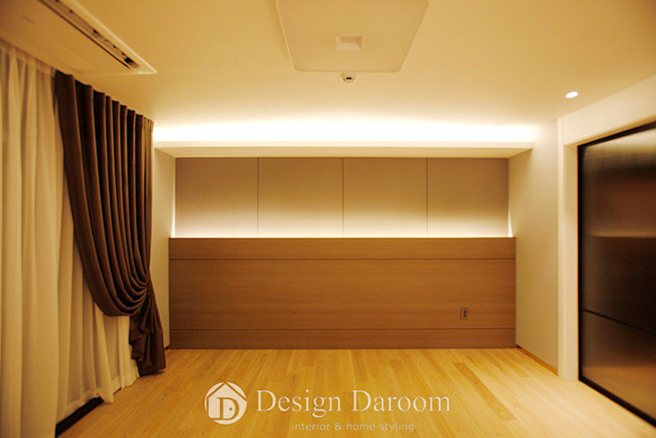Modern style bedroom by Design Daroom 디자인다룸 Modern