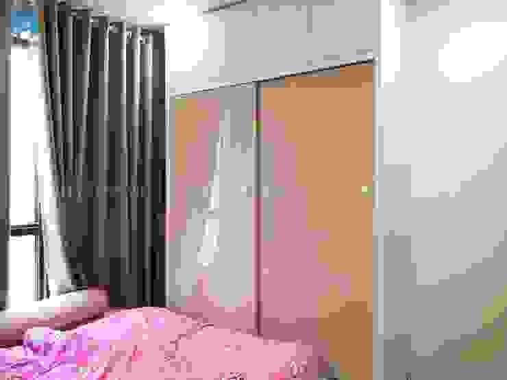 Tủ quần áo gỗ công nghiệp phủ acrylic cho bé bởi Công ty TNHH Nội Thất Mạnh Hệ Hiện đại Gỗ Wood effect