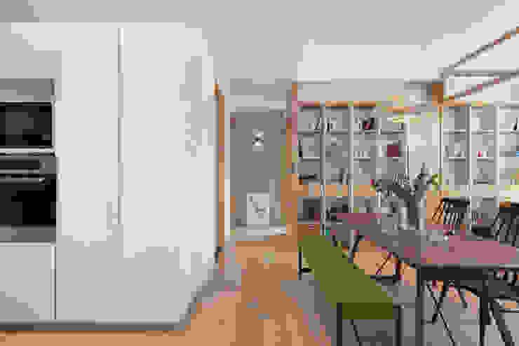 蘊韻 亞洲風玄關、階梯與走廊 根據 禾光室內裝修設計 ─ Her Guang Design 日式風、東方風