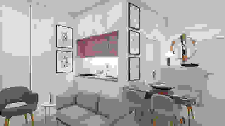 Kitchenette Art Fusion Salas de estar modernas