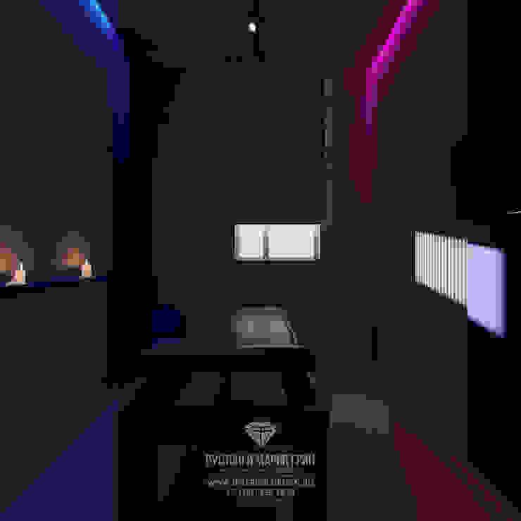 Oficinas de estilo ecléctico de Студия дизайна интерьера Руслана и Марии Грин Ecléctico