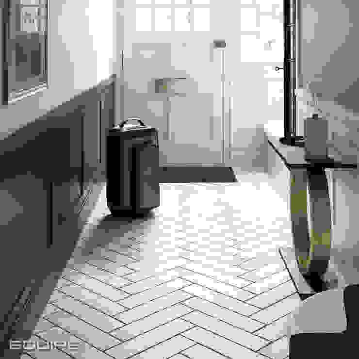 Stromboli Pasillos, vestíbulos y escaleras de estilo moderno de Equipe Ceramicas Moderno Azulejos