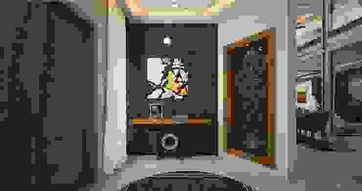 best foyer designs in India  : modern  by Monnaie Interiors Pvt Ltd,Modern