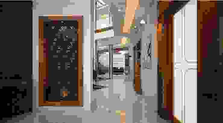 foyer designs for indian homes : modern  by Monnaie Interiors Pvt Ltd,Modern