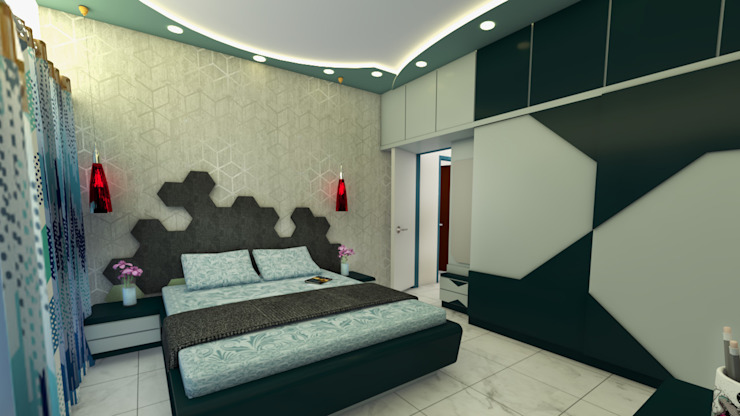 Utopia Interiors & Architect Modern style bedroom