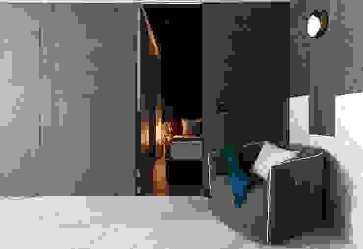 Dormitorios de estilo moderno de 肯星室內設計 Moderno