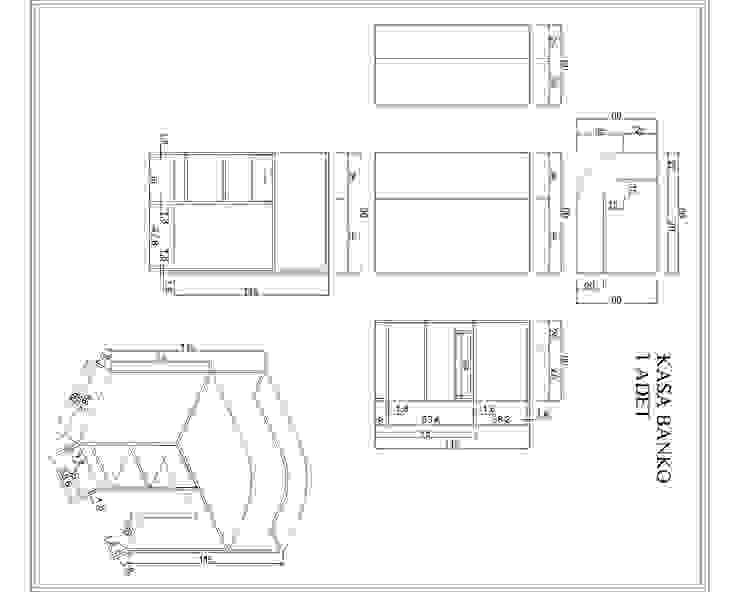 Beykent İç Mimarlık – kasa bankosu: modern tarz , Modern