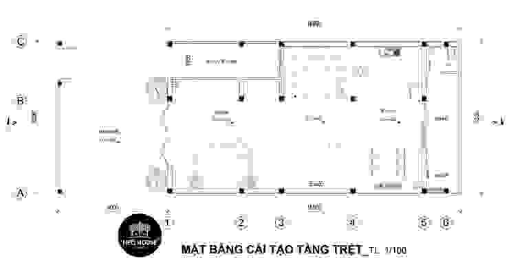 Thiết kế cải tạo nhà phố hiện đại 3 tầng tại Tân Phú bởi NEOHouse