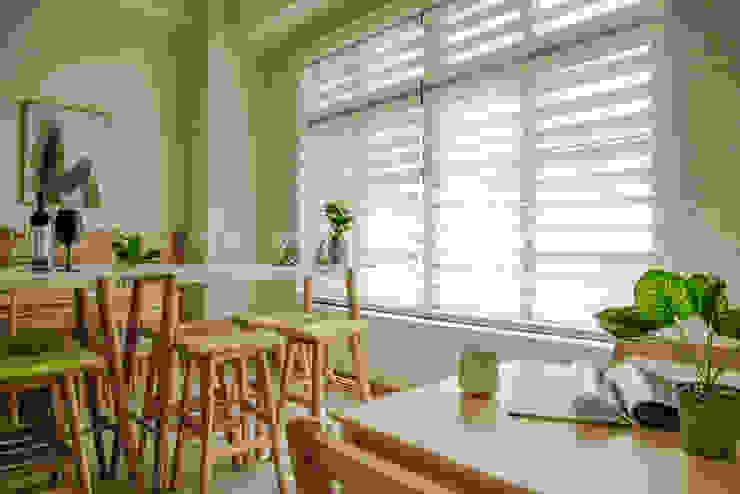 億載國小餐廳 根據 SING萬寶隆空間設計 北歐風