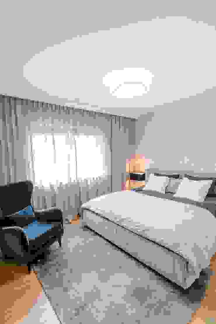 Scandinavian style bedroom by Bargański Pracownia Wnętrz Scandinavian
