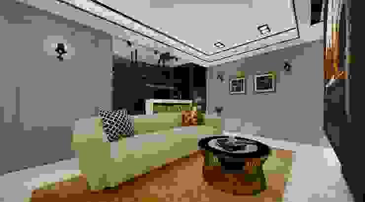 優雅輕古典-視聽室 根據 台灣柏林室內設計 古典風