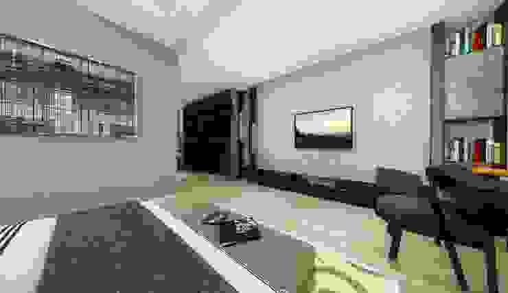 優雅輕古典-臥室 根據 台灣柏林室內設計 古典風