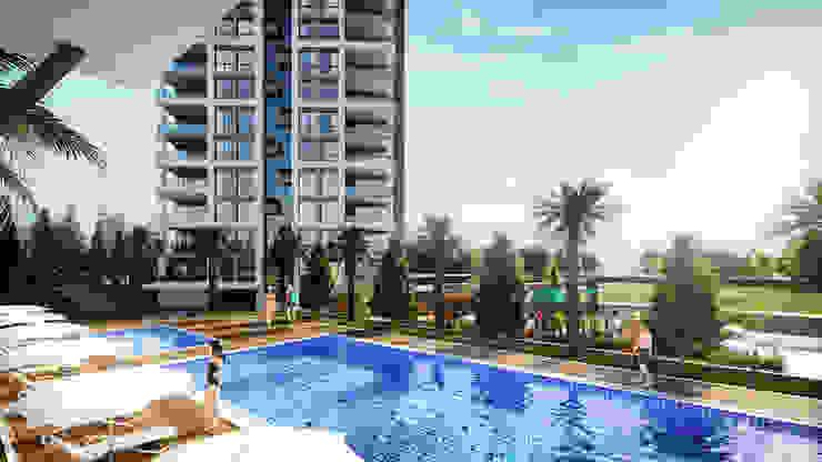 Seyir Park Çalık Konsept Mimarlık Modern Havuz
